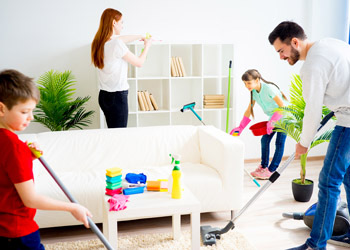 Efficient Family Home Cleaning
